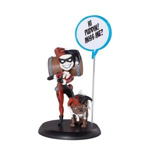 NEW Harley Quinn DC Comics Q-Fig vinyl figurine